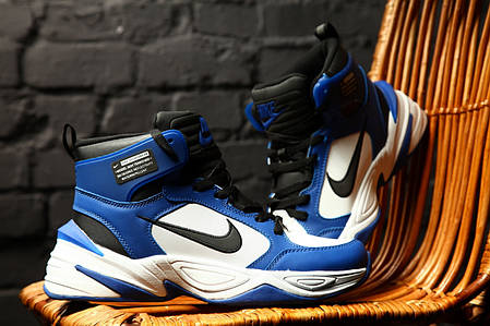 Зимние мужские кроссовки Nike M2K Tekno Winter Blue топ реплика, фото 2