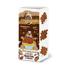 Печенье галетное с какао, ТМ Bakeville
