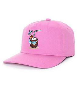 Кепка тракер Coal - Pink Cocnat (Бейсболка Снепбек)