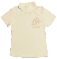 Блузка Valeri-Tex 1507-20-042-024 146 см Молочный, КОД: 264273