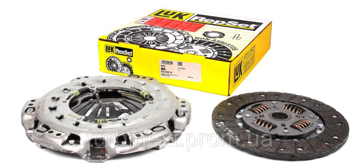 Комплект зчеплення LuK 623 3169 19 MB Vito (W639) (65-80kw) (d=230mm) 03-