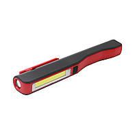 Аккумуляторный фонарик с магнитом и USB зарядкой BL-ESEN-86A COB sp4257, КОД: 110472
