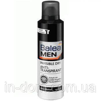 Balea MEN Deodorant Anti-Transpirant Invisible Dry мужской дезодорант-антиперспирант Невидимый 200 мл