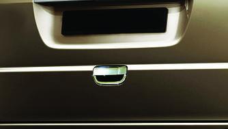 Накладка на ручку задней двери (нерж.) - Mercedes Viano 2004-2015 гг.