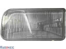 Стекло фары правое VW Passat B3 (TYC)