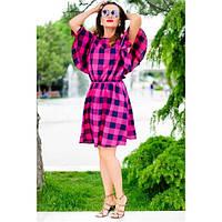 Женское летнее платье  Шарлотта малиновый