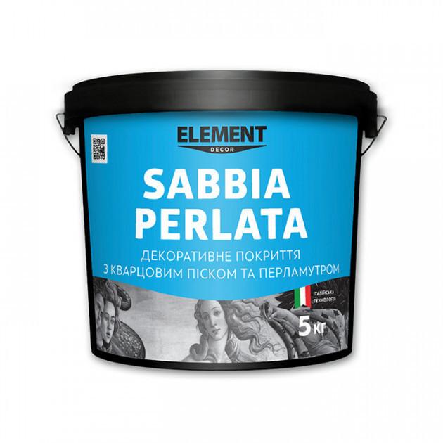Декоративное покрытие Element Decor SABBIA PERLATA 5 кг