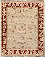 Афганский шерстяной ковёр ручной работы с эффектом старения. Чуби. Шерсть. Размер1930х1530мм.