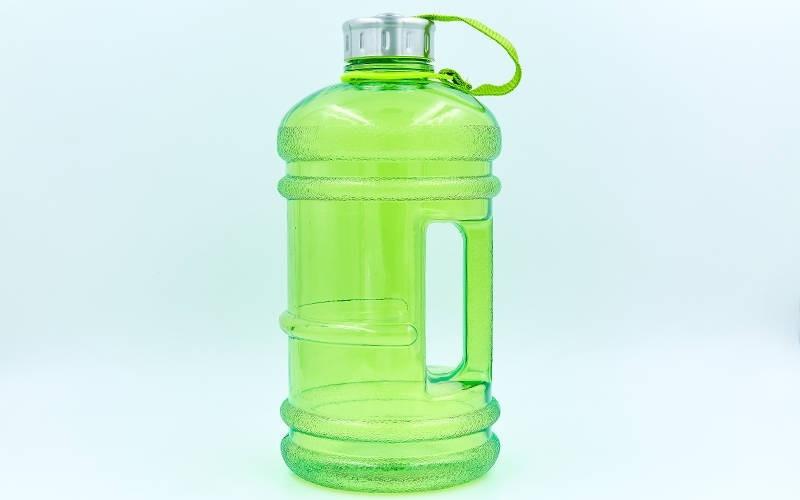 "Бутылка для воды спортивная ""БОЧОНОК"" 2200 ml (FI-7155-GN)"