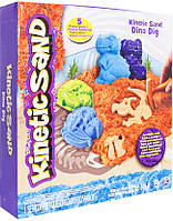 Wacky-Tivities Кинетический песок Wacky-tivities Kinetic Sand Dino, голубой/коричневый (71415Dn), фото 1