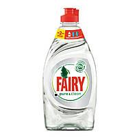 Средство для мытья посуды Fairy pure & clean 450мл