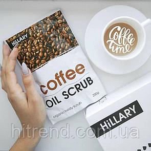 Кофейный скраб для тела Hillary Coffee Oil Scrub - 131377