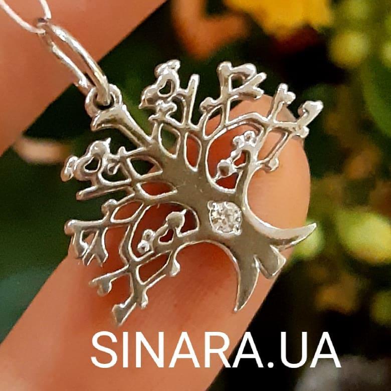 Серебряный кулон Дерево Жизни - Древо Жизни подвеска серебро