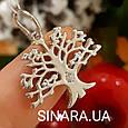 Серебряный кулон Дерево Жизни - Древо Жизни подвеска серебро, фото 2