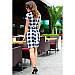 Сукня в чорно-білу клітинку Поліна, фото 2