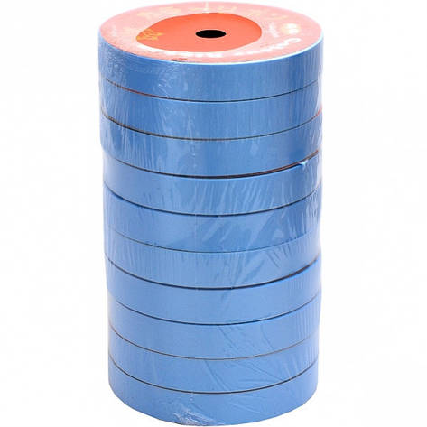 Лента 16 мм*10 м голубая, 10 штук, фото 2