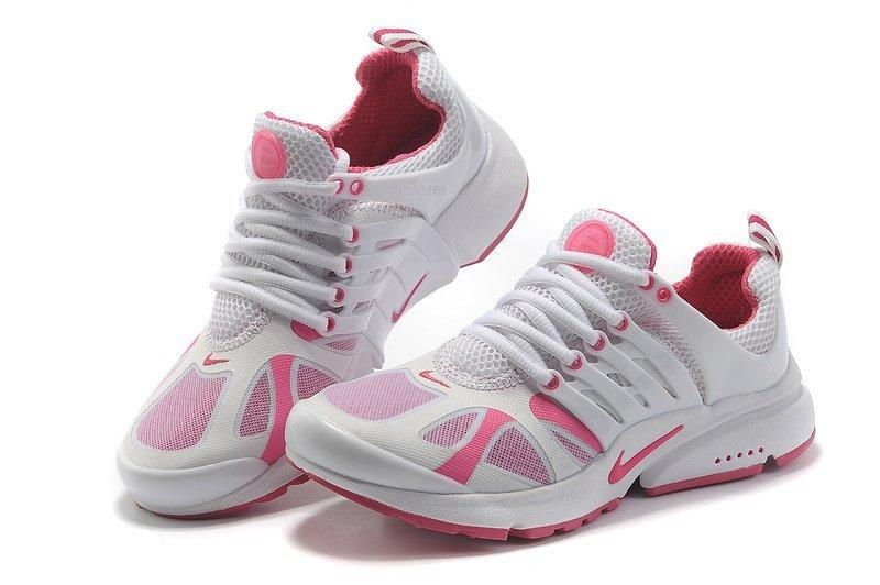 Кроссовки женские Nike Air Presto 2012 White Pink найк аир престо белые  оригинал 4409a3896c1