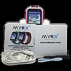 Детские водонепроницаемые GPS часы MYOX МХ-16GW розовые (камера+фонарик), фото 7