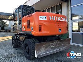 Колісний екскаватор Hitachi ZX 190 W-3 (2007 р), фото 2