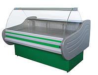 Витрина холодильная ВХСК Арктика 1.3 с гнутым стеклом