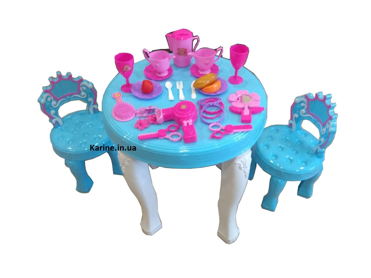 Столик и 2 стульчика Фрозен (Frozen) мебель 901-348