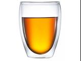"""Пиала/ термо чашка стеклянная с двойными стенками """"Гейша"""" 300 мл., фото 3"""