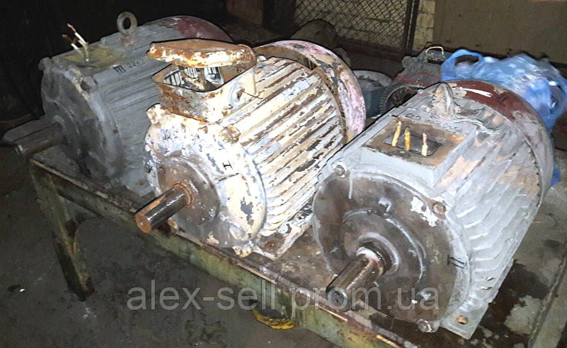 Электродвигатель електродвигун А 180 S2 22 кВт 3000 об/мин.