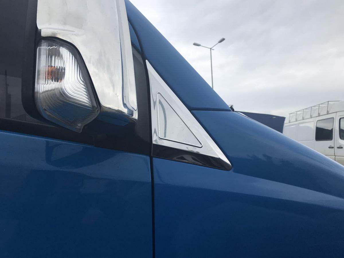 Накладка возле зеркал (2 шт, нерж) - Mercedes Sprinter 2006-2018 гг.