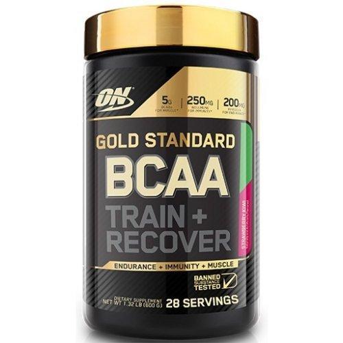 Аминокислоты Optimum Nutrition Gold Standard BCAA Train + Recovery 280g