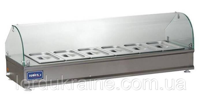 Витрина тепловая настольная ВТН-Р-5-1055