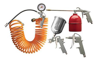 Набор аксессуаров для воздушного компрессора VORSKLA ПМЗ 5-10 (в комплекте шланг длиной 10м)