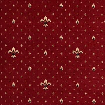 Ковролін ткан. Balta Wellington 4957 0010 4,0м червоний штучн.джут саксоні ПП