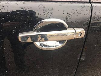 Накладки на ручки (4 шт, нерж) - Mercedes E-klass W210