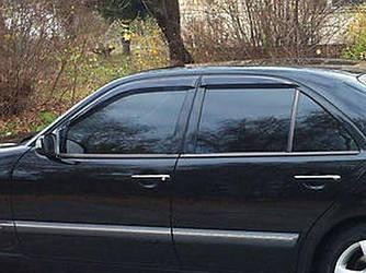 Вітровики (4 шт, Cobra) - Mercedes E-klass W210