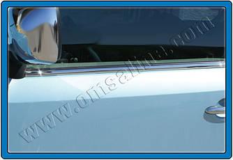Окантовка вікон (нерж) - Mercedes Citan 2013+ рр.