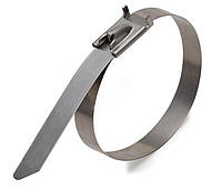 Стяжка кабельная Takel металлическая 5х360мм 100шт./уп