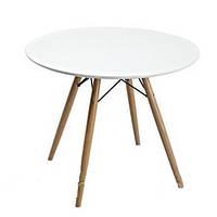 Стіл обідній Тауер Вуд, діаметр 100 см