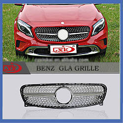 Передняя решетка Diamond (2014-2016) - Mercedes GLA X156