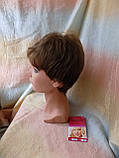 Короткий парик из термоволокна русый 2763t-10, фото 2