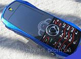 Телефон машинка Ferrari F9 синяя, фото 2