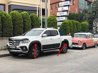 Расширители колесных арок (под покраску) - Mercedes X class