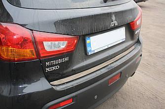 Кромка багажника (нерж.) - Mitsubishi ASX 2010+/2016+ гг.