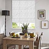 Рулонные шторы Бамбук белый, фото 2
