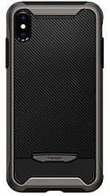 Чехол Spigen для iPhone XS Max Hybrid NX Gunmetal