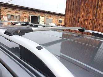 Перемычки на обычные рейлинги под ключ (2 шт) - Mitsubishi Grandis 2005+ гг.
