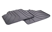 Оригінальні коврики салону резинові задні BMW 3 (E90, E91) (51472336599)