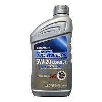 Моторное масло  Honda 5W-20 Ultimate Full Synthetic, фото 1