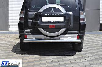 Задняя дуга AK002 (нерж.) - Mitsubishi Pajero Wagon IV