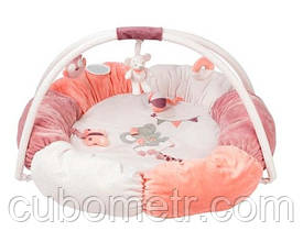 Nattou Развивающий коврик с дугами и подушками Адель и Валентина 424288