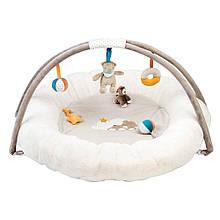 Nattou Развивающий коврик с дугами и подушками Мия и Базиль 562225